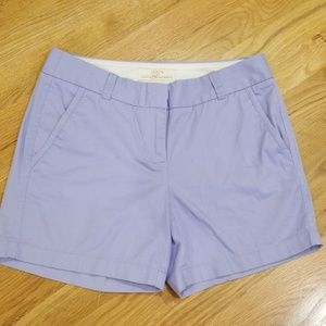👍J Crew Chino Shorts Size 0